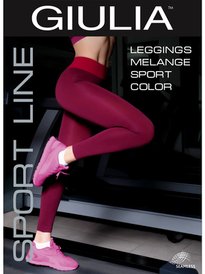Leggings Sport Melange Color